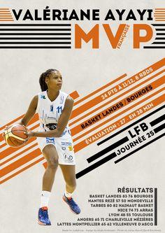 Valériane Ayayi - MVP Française - LFB Journée #25