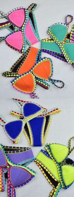 Hot Sale Neo Crochet Bikini Suit