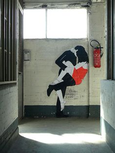 Claire. Street Art.