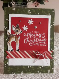 Stampin' & Scrappin' with Stasia: Home for Christmas