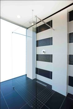 Frameless showers are the latest and are custom designed to be as individual as you are Kitchen Sink, Design Trends, Showers, Bathroom Ideas, Home Goods, Bathrooms, Tiles, Custom Design, Furniture