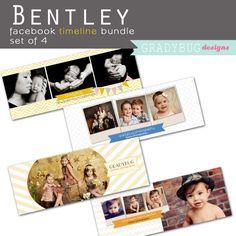 bentley facebook timeline bundle » Gradybug Designs #GradyBugDesignsPinToWin