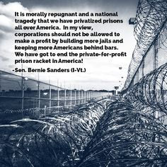 Corporate profits from Prisons