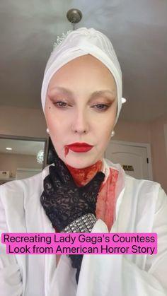 Lady Gaga Countess, American Horror Story, Horror Stories, Make Up, American Horror Stories, Makeup, Beauty Makeup, Bronzer Makeup