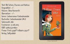 """""""Mit Schirm, Charme und Kaktus"""" ist eine sehr unterhaltsame und humorvolle Liebesgeschichte, welche mir sehr gut gefallen hat. Die Autorin entführte mich in ein italienisches Bergdorf mit einzigartigen Bewohnern und Charakteren. Ein tolles Buch für zwischendurch ~ Schmunzelfaktor ~ tolle Unterhaltung ~ romantisch ~ Italienflair ~"""