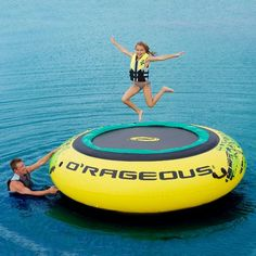 O'rageous® Super Bouncer. This would be SSOOO much fun when we go camping at the lake. The kids would have a blast!!!!!
