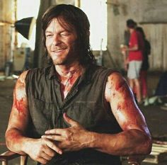 Here is a photo of Norman Reedus aka Daryl, winking. Getting excited for the return of The Walking Dead. The Walking Dead 3, Walking Dead Season, Norman Reedus, Daryl Dies, Daryl Twd, Quiet People, I Want Him, Stuff And Thangs, Andrew Lincoln