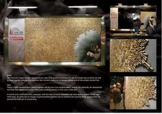 15,000 Cigarette Butts as Art: No-Smoker Day Campaign (by Ogilvy)