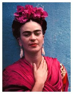 Kahlo began to deny quite obvious European influences such as Surrealism, as she, along with Rivera, became a driving force of the 'Mexicanidad' movement which sought to increase the status of Mexican culture and decrease the Spanish influence from Europe. She started to wear traditional Mexican costumes and braided her hair with ribbons, flowers and jewellery to identify with indigenous Mexican culture. The imagery and colours in her paintings were also changed to reflect this national…