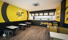 Fast food Design 3D visualization on Behance