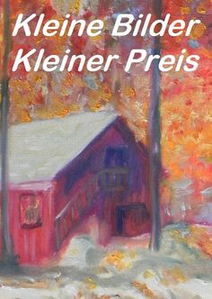 #kleinePreis #Wald #Herbst #roteblätter #Kunst #Dekoration First Names, Create Yourself, Etsy Seller, Creative, Red Leaves, Small Paintings, Forests, Fall, Dekoration