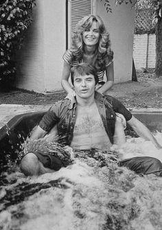 Young Robert Ulrich & Heather Menzies