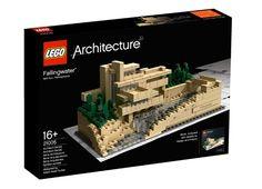 Lego Architecture   La casa sulla cascata di F. L. Wright