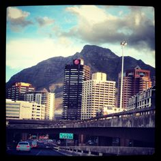 Cape Town CBD by Jacques Heyden