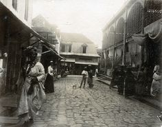 https://flic.kr/p/cuueRQ | Street Scene, St. Pierre, Martinique, ca 1890 | Item:  Title: Street Scene, St. Pierre, Martinique Photographer:  Publisher: Publisher#: Year: ca 1890 Height:  Width:  Media: printing out paper Color: B/W  Country: Martinique Town: St. Pierre Notes:  For information about reproducing this image, visit: THE CARIBBEAN PHOTO ARCHIVE