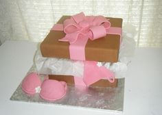 Bridal shower lingerie cake. By Sweetly Stacked.  https://www.facebook.com/pages/Sweetly-Stacked/103294699762439