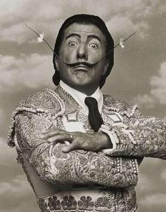(Dustin Hoffman parodiando a Dalí)