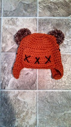 Ewok Star Wars crochet hat