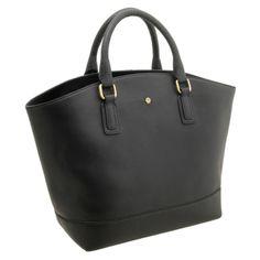 Yoshi Kingsley Zip Top Tote Bag - Black