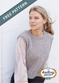 Easy Sweater Knitting Patterns, Knit Vest Pattern, Free Knitting, Jumper Patterns, New Girl, Chucky, Lana, Layering, Knitting Websites