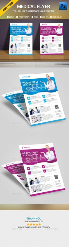 Medical Flyer Template: