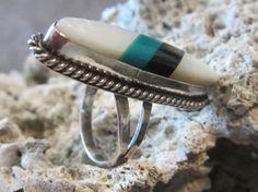 Vintage Jewelry/Vintage Sterling Ring/American by edanebeadwork, $35.00