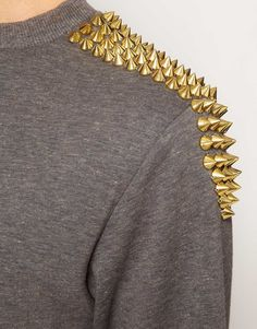 Hearts and Bows Studded Sweatshirt