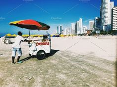 Cartagena beach by Design & photo resources on @creativemarket