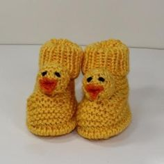 Looking for your next project? You're going to love Toddler Chick Boots by designer madmonkeyknits. - via @Craftsy