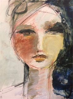 Abstract Faces, Call Art, Human Art, Portrait Art, Figure Painting, Figurative Art, Painting Inspiration, Female Art, Art Images