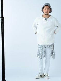 B:MING LIFE STORE by BEAMS | 佐藤嘉紀さんのハット「B:MING LIFE STORE by BEAMS 【予約】Dickies / 別注 SWEAT HAT」を使ったコーディネート