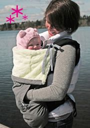 RoSK Woobee Pouch -   This is a pretty sweet weather proof pouch that can be used with any baby carrier, car seat or stroller.