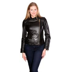 Kenneth Cole Women's Motorcycle Jacket