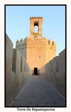 Torre de Espantaperros, Badajoz Conquistador, Merida, Tower Bridge, Events, Building, Places, Travel, Rammed Earth, 16th Century