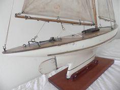 Pond Yacht Antuques -