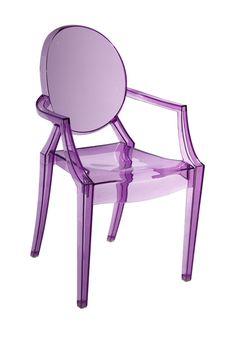 Bentley Purple Arm Dining Chair