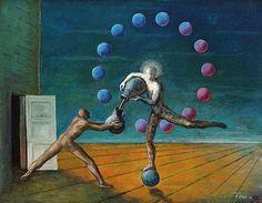 Edgar Ende(1901 Altona - 1965 München). Der Tänzer - by Ketterer