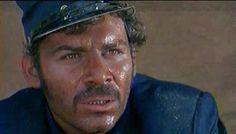 """Gian Maria Volonte in """"Per un pugno di dollari"""""""