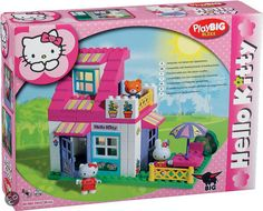 bol.com | Hello Kitty Huis,BIG | Speelgoed