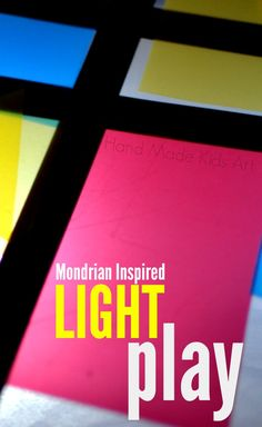 An art twist on light play. I love that this tutorial also includes how to make a simple diy light box.