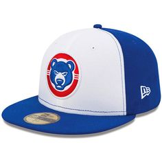 ca223acbfe1e67 South Bend Cubs New Era Authentic Collection On Field 59FIFTY Fitted Hat -  White/Royal