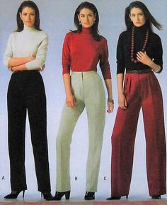 Pants Sewing Pattern UNCUT McCalls M5239 Sizes 8-14