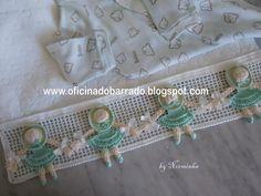 OFICINA DO BARRADO: Croche - Outras idéias . . .