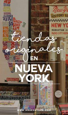 Tiendas de Nueva York para comprar regalos originales. Dónde comprar souvenirs de Nueva York más allá de los típicos. #NuevaYork