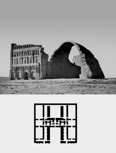Arch of Ctesiphon, Al-Mada, Iraq (540AD)