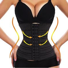ecea0367e0654 DODOING Waist Trainer Corset for Weight Loss Slimming Body Shaper Tummy Fat  Burner -- For