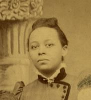 Portrait of Halle Tanner Dillon-Johnson taken from the Woman's Medical College of Pennsylvania, class of 1891 photograph