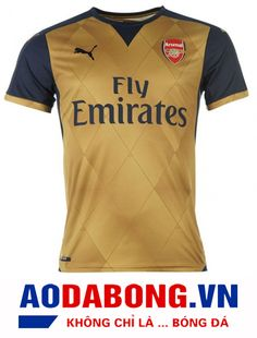 b30b86d7ecde Arsenal Jersey Away Brown Soccer Shirt