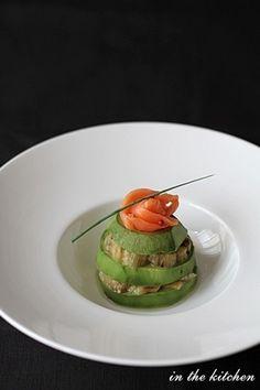 焼きなすマリネとアボカドのミルフィーユ by chieさん   レシピブログ ...