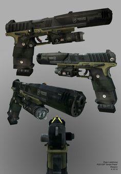 Titanfall smart pistol concept art